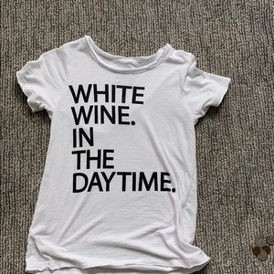 "CHASER ""White Wine in the Daytime"" Tee"